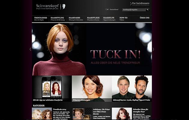 Content Marketing Beispiele: Schwarzkopf